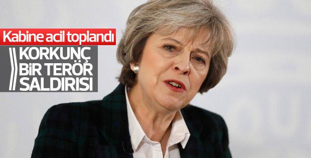 Theresa May: Korkunç bir terör saldırısı