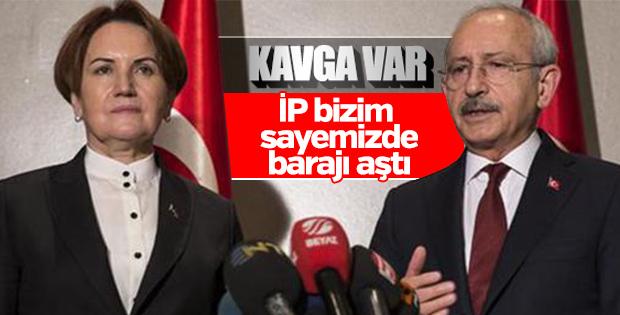 CHP'lilerden İYİ Parti'ye sert tepki