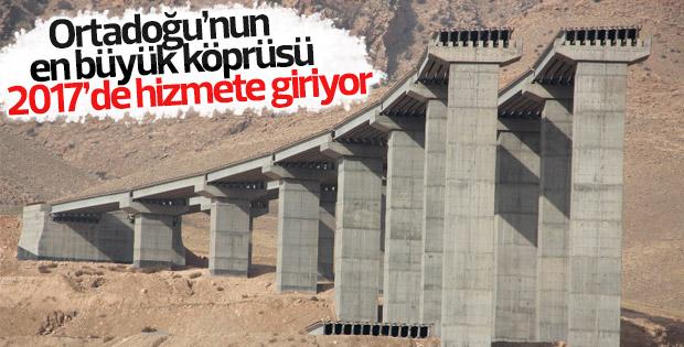 Türkiye'nin dördüncü büyük köprüsü 2017'de açılacak