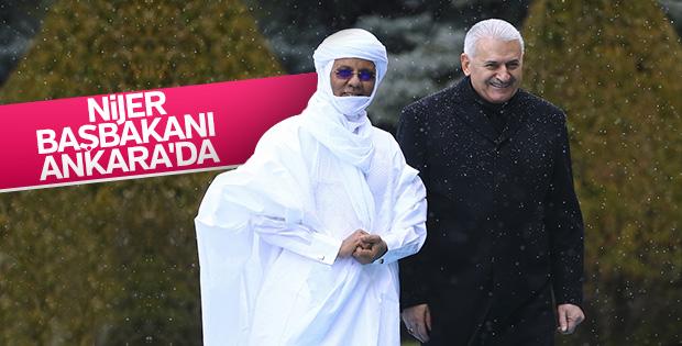 Nijer Başbakanı Ankara'da