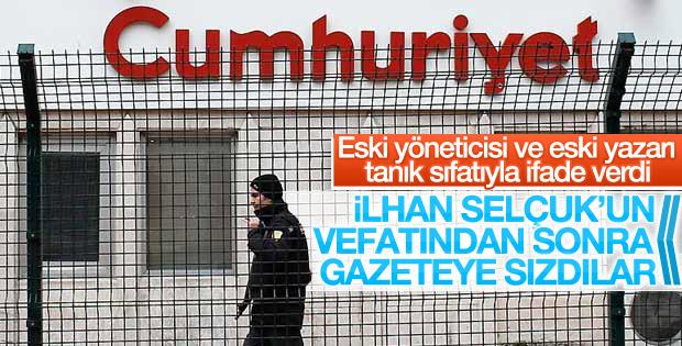 Cumhuriyet gazetesi soruşturmasında tanıkların ifadesi