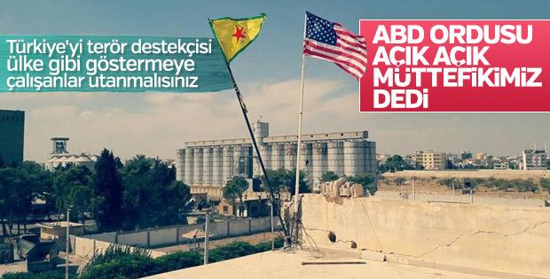 Amerika terör örgütü PKK'yı müttefik olarak görüyor