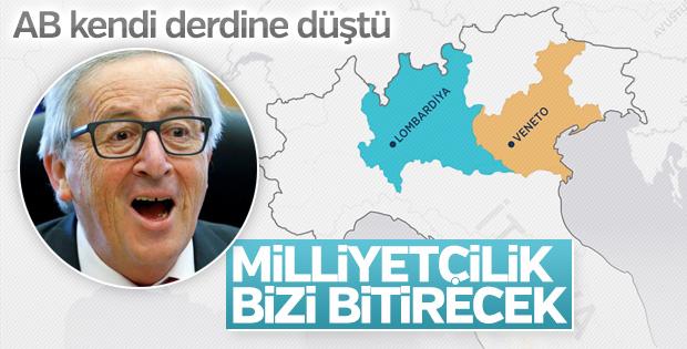 Juncker: Artan milliyetçilik AB için büyük tehlike