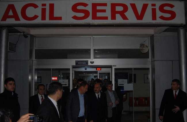 Sağlık Bakanı Müezzinoğlu Çanakkale'de teftişe çıktı