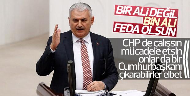 Binali Yıldırım'dan başbakanlık cevabı