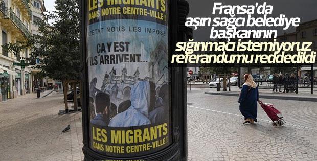 Fransa'da mahkeme sığınmacı referandumunu iptal etti