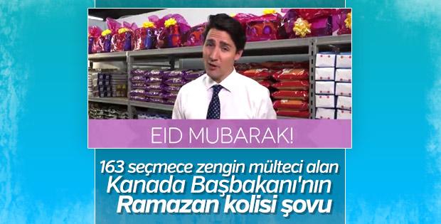 Justin Trudeau bayram kolisi hazırladı