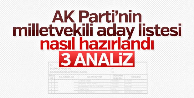 AK Parti aday listesinin hazırlandığı kriterler