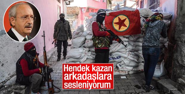 Kılıçdaroğlu'na hendek kazan arkadaşlar soruldu