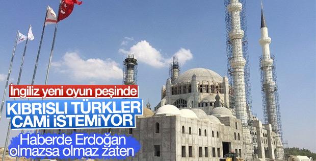 The Times'ın Kıbrıslı Türkler cami istemiyor haberi