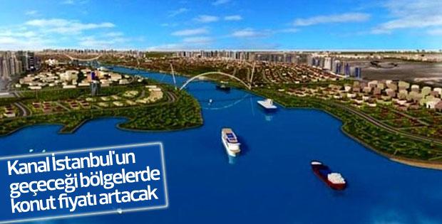 Kanal İstanbul'un geçeceği bölgelerde fiyat artışı yaşanacak