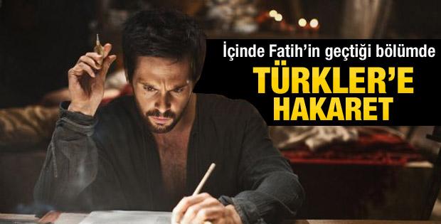 Da Vinci'de Türkler'e ağır hakaretler