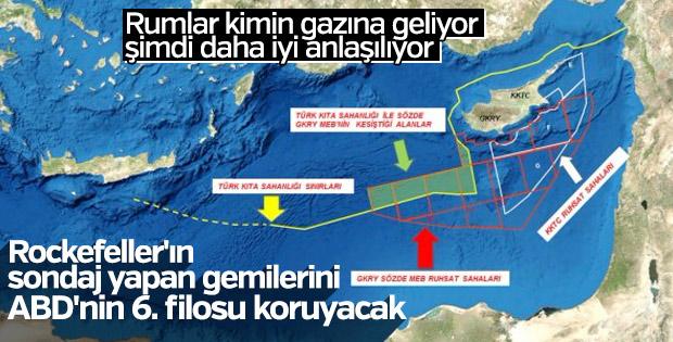 Akdeniz enerji sahasında 6'ıncı filo gerginliği