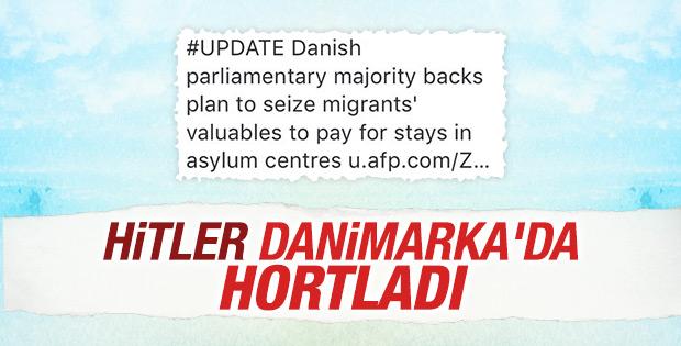 Danimarka göçmenlerin ziynetlerine el koyuyor