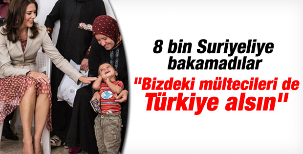Danimarka: Türkiye bizdeki Suriyelileri de alsın