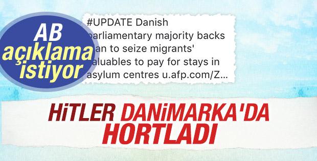 Avrupa Parlamentosu'ndan Danimarka'ya: El koymayı açıkla