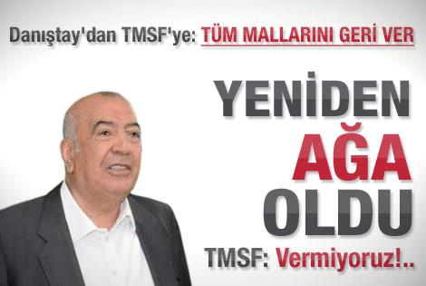 Danıştay'dan TMSF'yi kızdıracak Toprak kararı