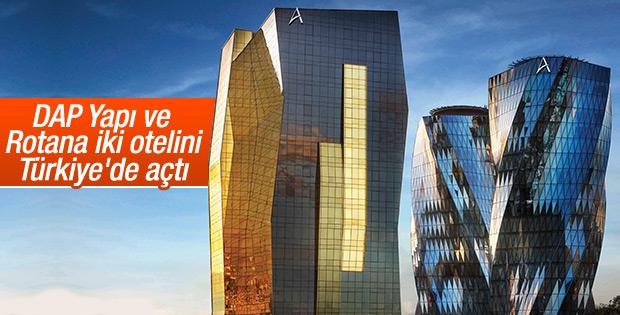 Rotana ve DAP Yapı ilk iki otelini Türkiye'de açtı