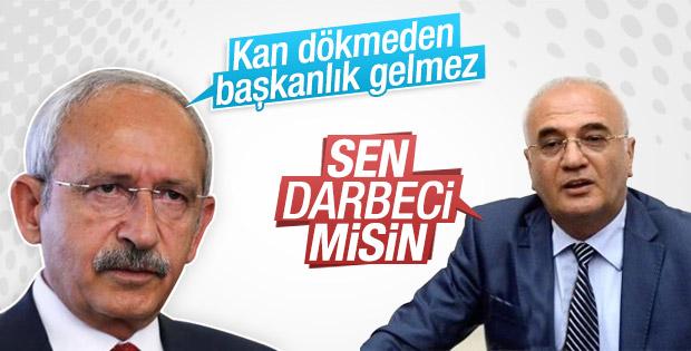 Kılıçdaroğlu'yla Elitaş arasında darbeci tartışması