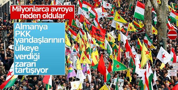 Almanya PKK yandaşlarının verdiği zararları konuşuyor