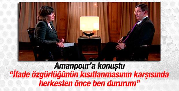 Başbakan Davutoğlu CNN'e konuk oldu