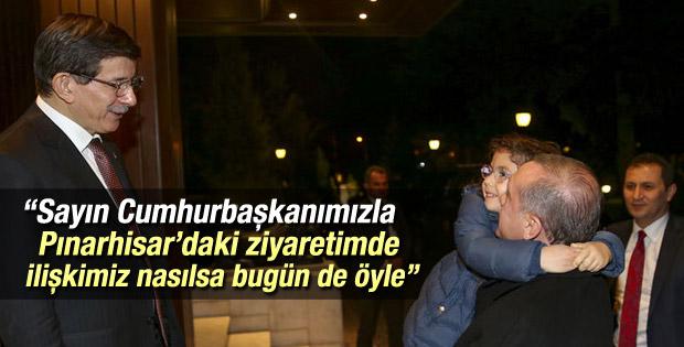 Davutoğlu Cumhurbaşkanı Erdoğan ile görüşmesini anlattı