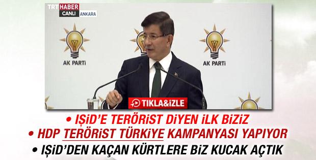 Davutoğlu: IŞİD'e terörist diyen ilk biziz