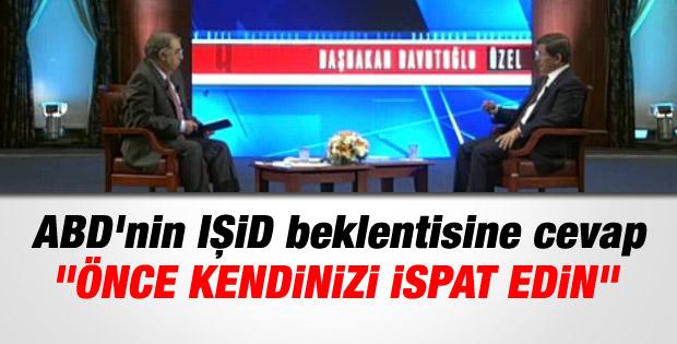 Başbakan Davutoğlu'nun canlı yayın konuşması