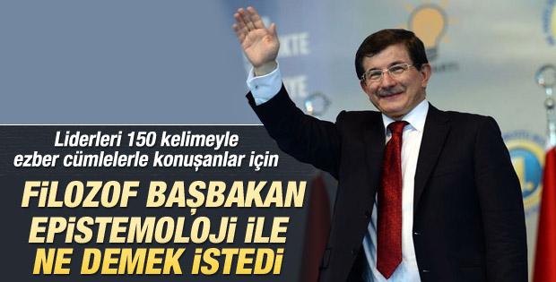 Ahmet Davutoğlu'ndan 9 maddelik manifesto