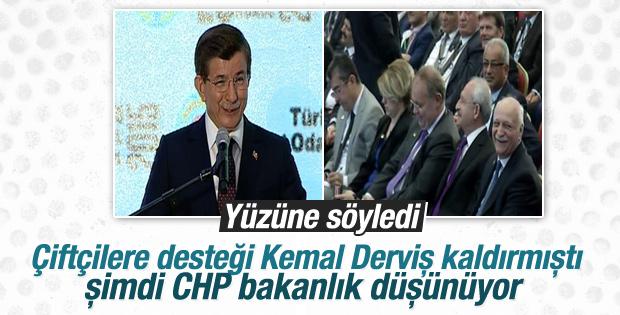Başbakan Davutoğlu'nun TZOB konuşması