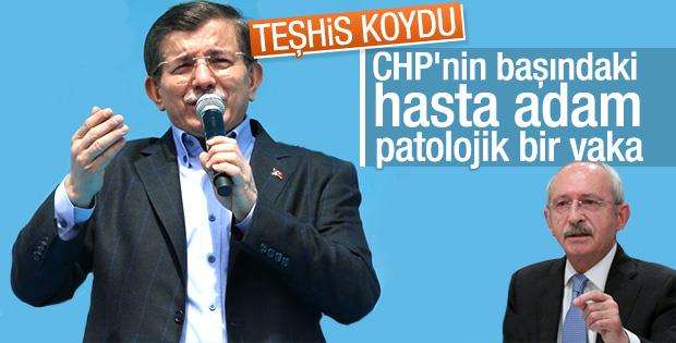 Davutoğlu'ndan Kılıçdaroğlu'na: Patolojik bir vaka