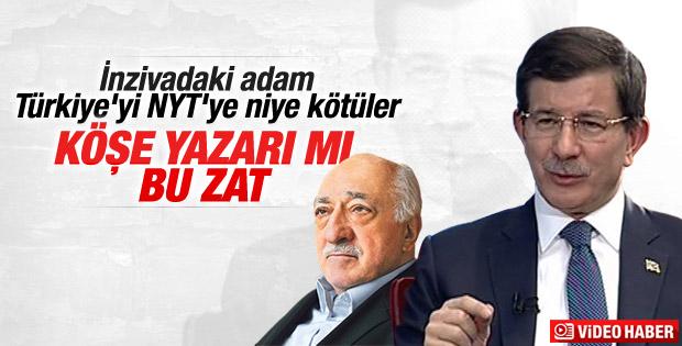 Davutoğlu Gülen'in New York Times yazısını eleştirdi