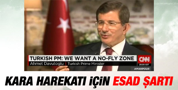 Başbakan Davutoğlu'ndan kara harekatı açıklaması