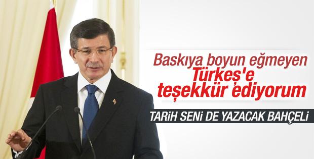 Davutoğlu'nun AKİM töreni konuşması