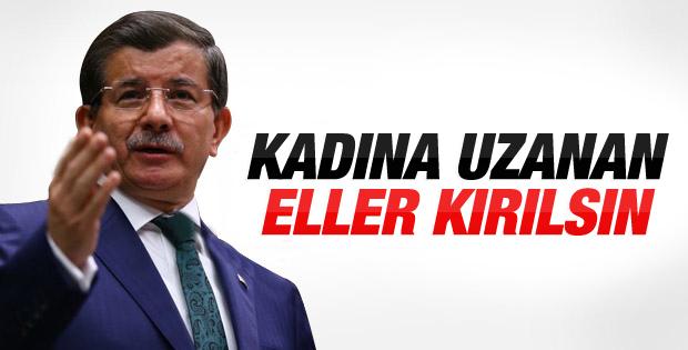 Davutoğlu'ndan Antalya'da Özgecan mesajı