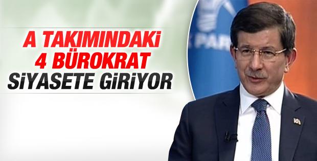 Davutoğlu'nun 4 başdanışmanı istifa etti