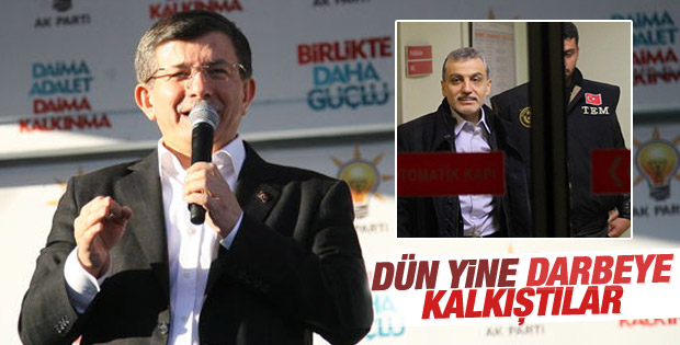 Başbakan Davutoğlu: Yargıda darbe yapmaya kalktılar