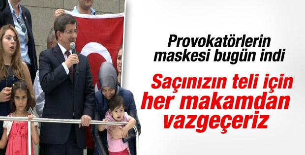 Davutoğlu 46 kişiyi Ankara'ya getirdi İZLE