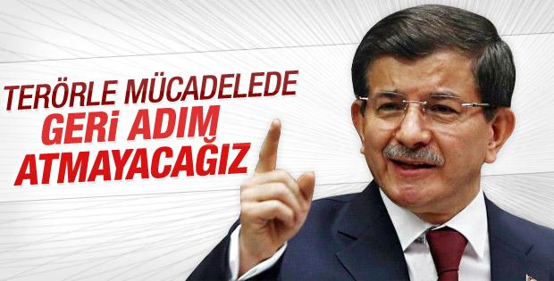 Başbakan Davutoğlu'ndan saldırı açıklaması