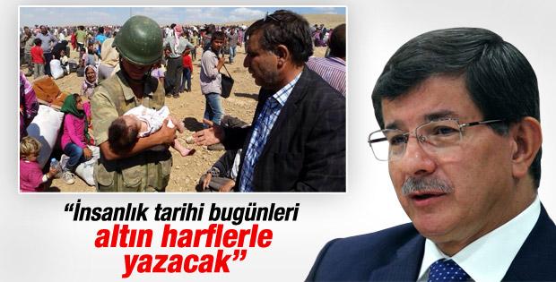 Davutoğlu'ndan Suriyeli Kürtlerle ilgili ilk açıklama İZLE