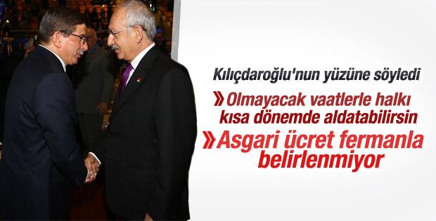 Başbakan Davutoğlu TOBB Genel Kurulu'nda