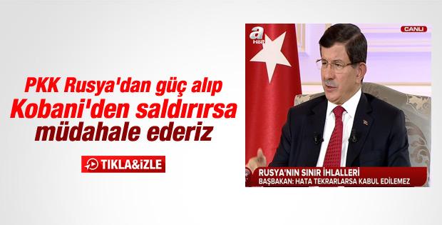 Davutoğlu A Haber-ATV ortak yayınında konuştu