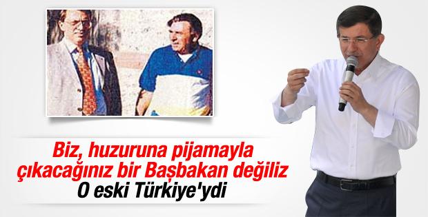Başbakan Davutoğlu'ndan Doğan Medya'ya tepki