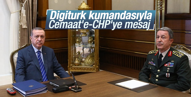Cumhurbaşkanı Erdoğan'ın masasında Digiturk ayrıntısı