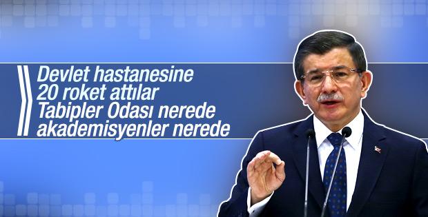 Başbakan Davutoğlu Tabipler Odası'na seslendi