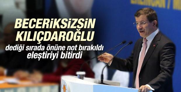 Davutoğlu'ndan Kılıçdaroğlu'na taziye mesajı İZLE