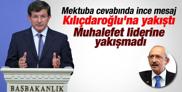 Davutoğlu'ndan Kılıçdaroğlu'nun sözlerine ağır cevap