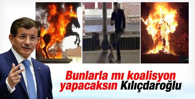 Davutoğlu: Kılıçdaroğlu HDP ile koalisyon yapma hazırlığında İZLE