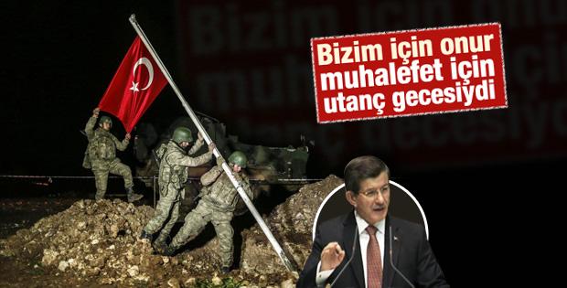 Davutoğlu'nun AK Parti teşkilatları toplantısı konuşması
