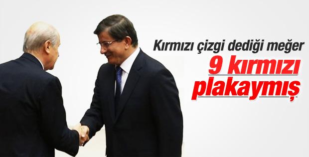 MHP'nin AK Parti'den istediği bakanlıklar